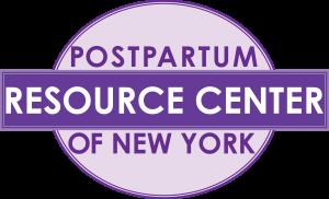 Postpartum Resource Center of New York logo.