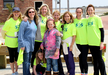 Sounds of Silence 2014 Group Picture with Lisa Reilly.