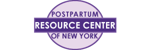 Postpartum Resource Center of New York's logo and website link. Please click here to reach this sponsor's website.