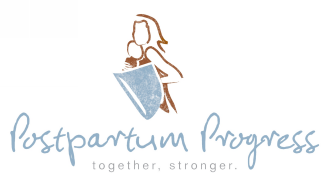 Postpartum Progress logo and website link. Please click here to reach their website.
