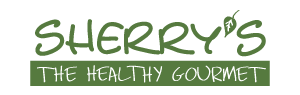 Sherry's Healthy Gourmet Store logo and website link. Please click here to visit this sponsor's website.