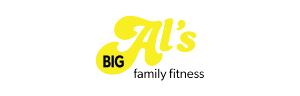 Big Al's Family Fitness logo and website link. Please click here to reach this sponsor's website.