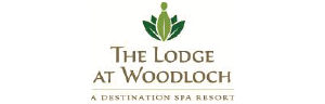 The Lodge at Woodloch logo and website link. Please click here to reach this sponsor's website.