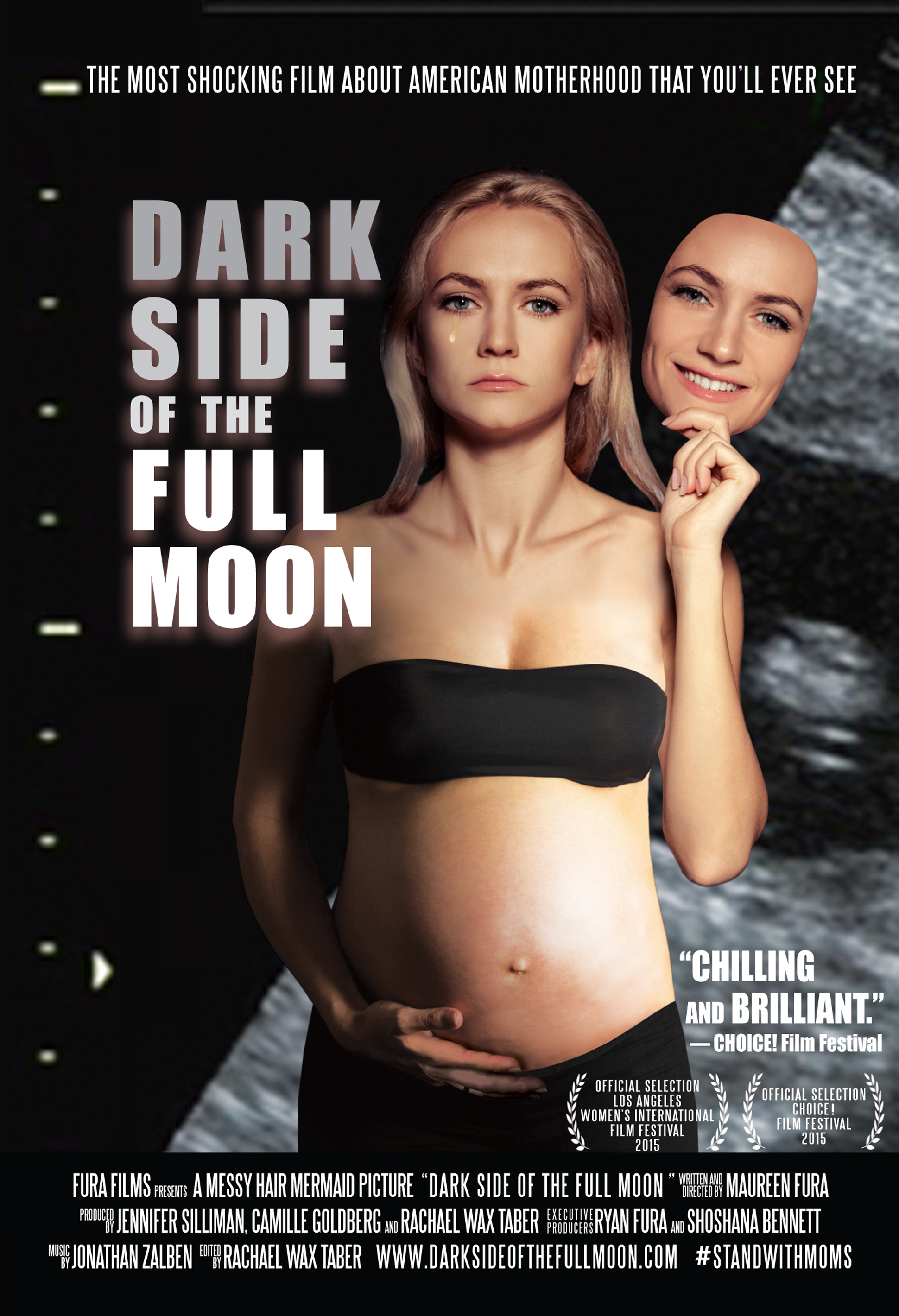 Dark Side of the Full Moon Free screening poster. Please click here to reach the event registration page.