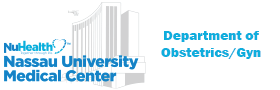 Nassau University Medical Center logo - Department of Obstetrics/Gyn. Please click here to reach this sponsor's website.