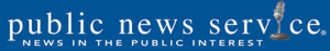 Public News Service logo and website header.