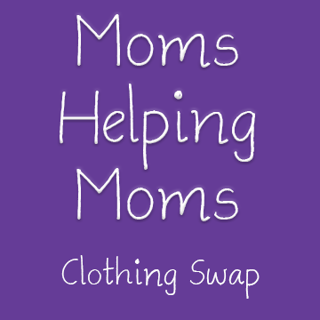 Moms helping Moms clothing swap image.