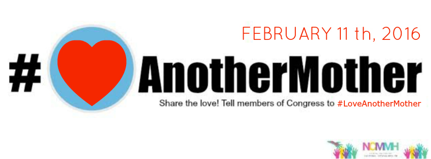 Love Another Mother banner. February 11, 2016