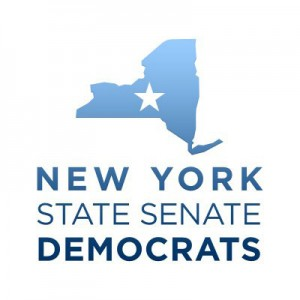 New York State Senate Democrats logo.