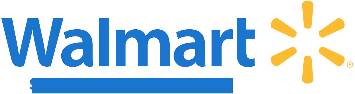 Walmart logo plus Hamburg, NY Store information.