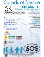 SOS Run/Walk 2016 Poster/Flyer – Sponsors – 11×17