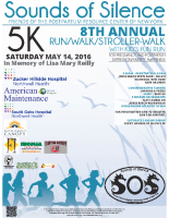 SOS Run/Walk 2016 Poster/Flyer – Sponsors – 18×24