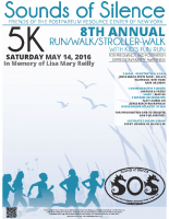 SOS Run/Walk 2016 Poster/Flyer – 18×24