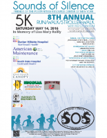 SOS Run/Walk 2016 Poster/Flyer – Sponsors – 8.5×14