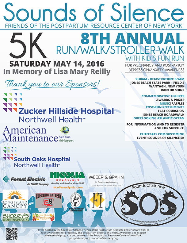 8th Annual Sounds of Silence 5K Run.