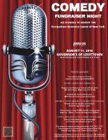 Governor's Comedy Fundraiser Flyer (pdf)