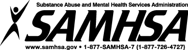 SAMHSA logo.