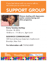 Mother's Support Group Flyer