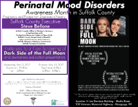 Perinatal Mood Disorders Event Flyer 2017Suffolk County, New York
