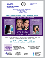 Dark Side of the Full MoonScreening Flyer EOC Hempstead, NY