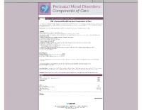 PSIs Perinatal Mood DisordersComponents of Care TrainingProject 62 WNY Task ForceBuffalo NY 2017