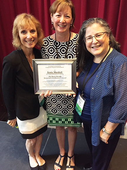 Sonia Murdock Ilyene Barsky Memorial Coordinator's Award.