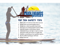 Paddleboard Safety Tips
