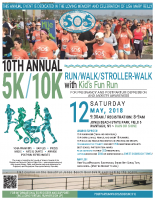 Sounds of Silence5k/10k Run Poster8.5×11