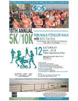 Sounds of Silence5k/10k Run Poster8.5×14
