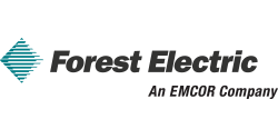 Forest Electric – An EMCOR Company logo. Please click on this link to visit this sponsor's website.