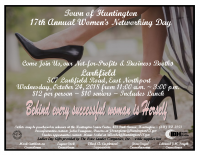 Town of Huntington – 2018 Flyer Women's Networking Day