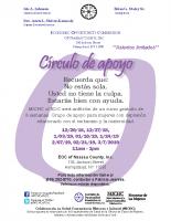 MICHC of EOCNassau CountyCírculo de apoyo folleto2019 – Spanish