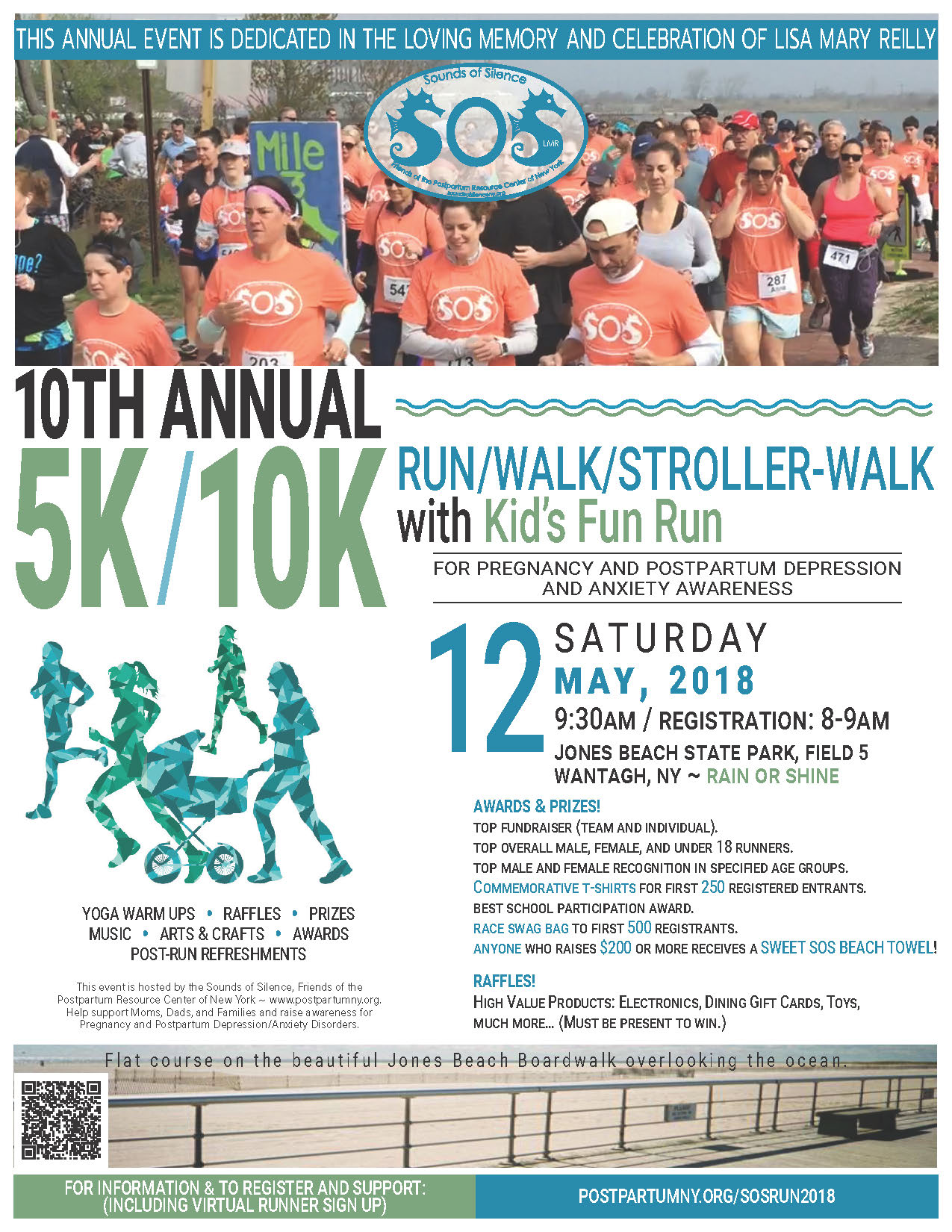 Sounds of Silence 5k/10k Run-Walk 2018