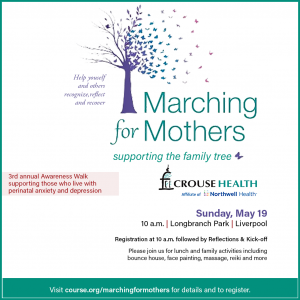 Course Health – 3rd AnnualMarching for Mothers walk.