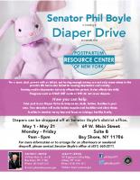 Diaper Drive FlyerMay 2019
