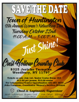 Town of Huntington's 18th Annual Women's Networking Day Flyer