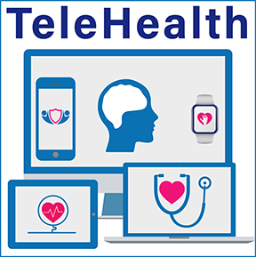 This icon indicates that the provider offers services by TeleHealth/TeleMedicine.