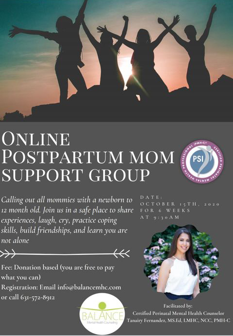 PPD Mother Group Flyer 2020