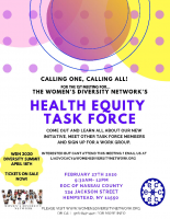 Health Equity Task ForceMeeting Flyer