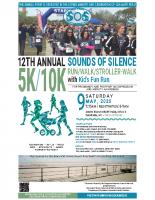 Sounds of Silence5k/10k Run-Walk2020Poster (8.5×14)