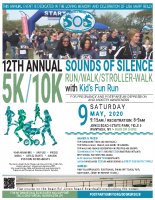 Sounds of Silence5k/10k Run-Walk2020Poster (8.5×11)