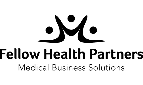 Fellow Health Partners logo. They are the t-shirt sponsor for the 13th Annual Sounds of Silence Run/Walk.