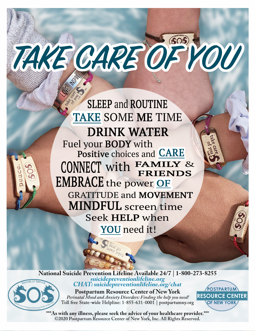 Take Care of You Initiative Flyer - March 2020