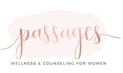 Passages Wellness and Counseling for Women logo. They are a T-Shirt Logo sponsor for the 13th Annual Sounds of Silence Run/Walk. Please click on the image to visit their site.