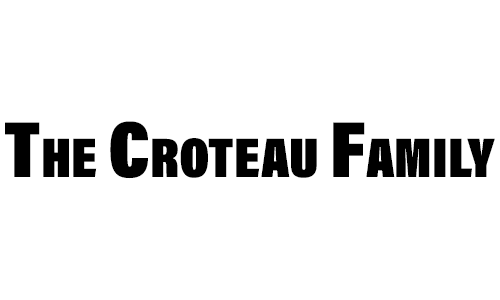 The Croteau Family logo. They are a T-Shirt Logo sponsor for the 13th Annual Sounds of Silence Run/Walk.
