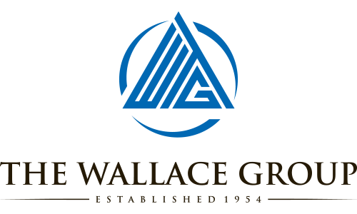 The Wallace Group logo. They are a T-Shirt Logo sponsor for the 13th Annual Sounds of Silence Run/Walk. Please click on the image to visit their site.