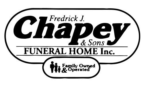 Chapey Funeral Home logo. They are a Seahorse sponsor for the 13th Annual Sounds of Silence Run/Walk. Click on link to visit them.