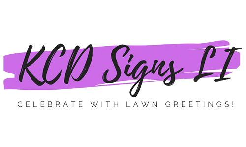 KCD Signs logo. They are a T-shirt logo sponsor for the 13th Annual Sounds of Silence Run/Walk. Please click on their link to visit them.