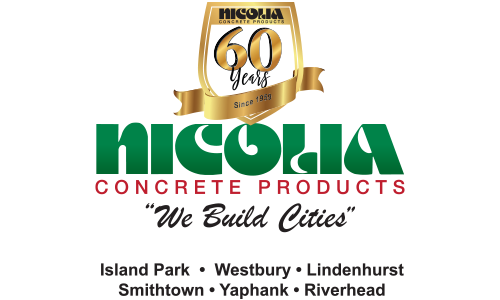 Nicolia Concrete Products logo. They are a Seahorse sponsor for the 13th Annual Sounds of Silence Run/Walk. Please click on their link to visit them.