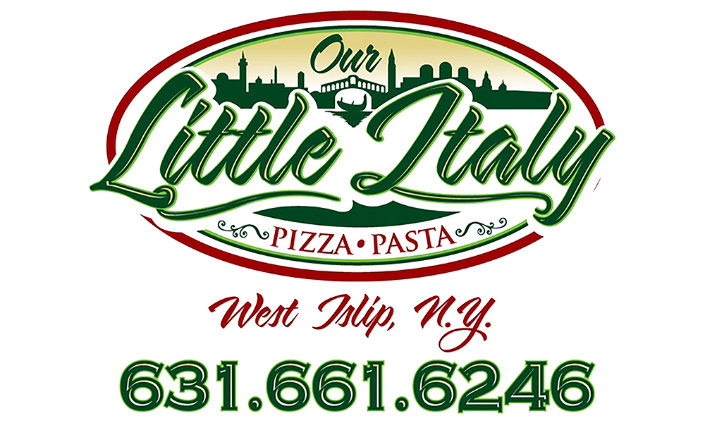 Our Little Italy logo. They are a T-shirt logo sponsor for the 13th Annual Sounds of Silence Run/Walk. Please click on their link to visit them.